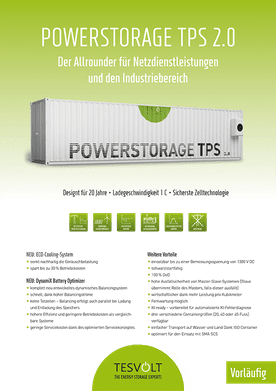 Tesvolt Powerstorage TPS 2.0