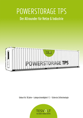 Tesvolt Powerstorage TPS